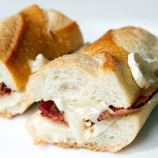 Brie and Bacon Sandwiches