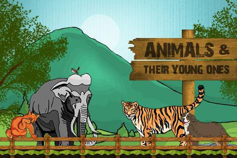 Animals Their Young Ones
