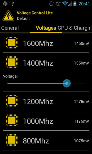voltage-control for android screenshot
