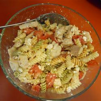 Chicken and Feta Pasta Salad