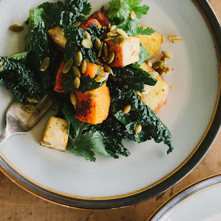 Miso-curry Butternut Squash With Tofu & Cavolo Nero