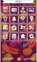 Screenshot of サマーナイト・カクテル for[+]HOMEきせかえテーマ