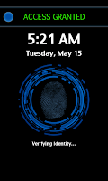 Screenshot of Screen Fingerprint Lock
