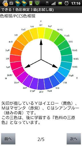 できる!色彩検定3級(無料お試し版)