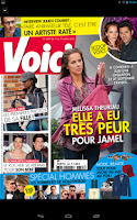 Screenshot of Voici le magazine