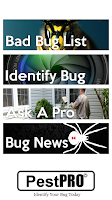 Screenshot of PestPro The Bug Identifier