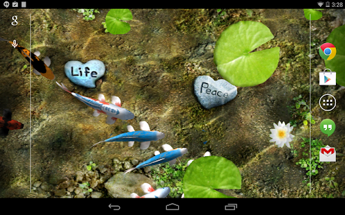 App Koi Free Live Wallpaper APK for Kindle