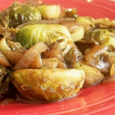 Sweet and Tangy Brussels Sprouts