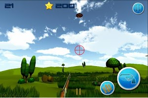 Screenshot of Skeet Shooter 3D