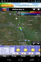 Screenshot of Siouxland Weather