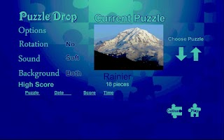 Screenshot of Puzzle Drop - Mountain Set