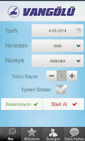 Screenshot of Vangölü Turizm