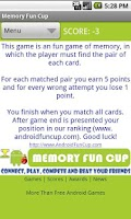 Screenshot of Memory Fun Cup - Multiplayer