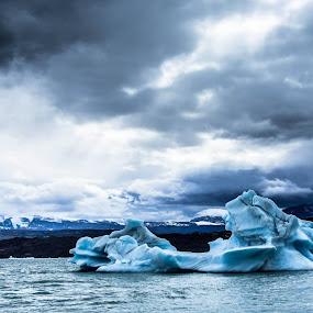 P.N Los Glaciares.Glaciar Upsala. by Javier De La Torre - Landscapes Waterscapes