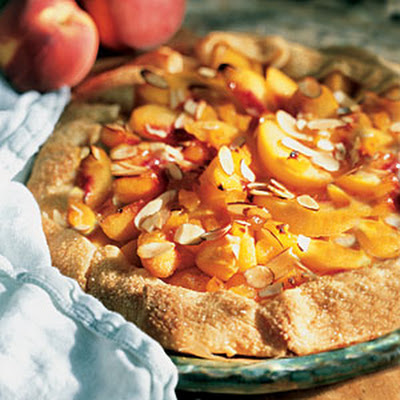Peach-Almond Tart
