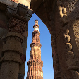 Qutub Minar, South Delhi, India by Mary Yeo - Buildings & Architecture Statues & Monuments (  )
