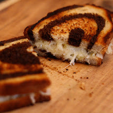 Dinner Tonight: Grilled Cheese Sandwiches with Sauerkraut on Rye