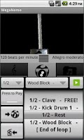 Screenshot of Free Metronome & Drum Machine