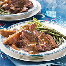 Pot Roast and Sweet Potatoes