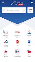 Screenshot of SingPost Mobile App