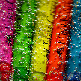 Bubbling Colors by Rakesh Syal - Artistic Objects Education Objects