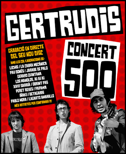 concert 500 de Gertrudis