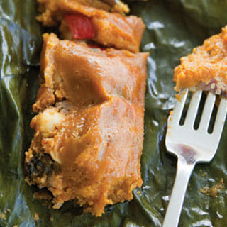 Pasteles (Green Banana and Pork Tamales)