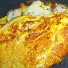 Smoked Chicken Omelette
