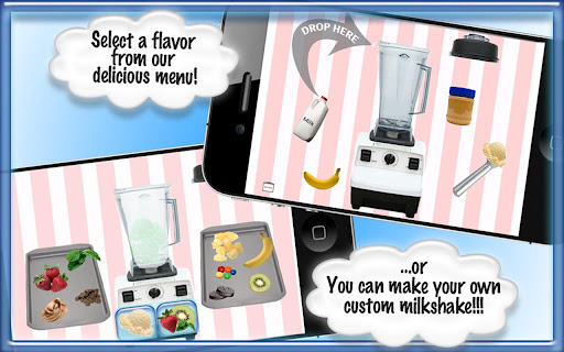Milkshake - Cooking Games App