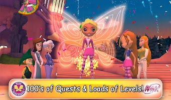 Screenshot of Winx Club: Winx Fairy School