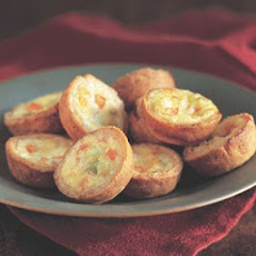 Leek and Red Pepper Mini-Quiches