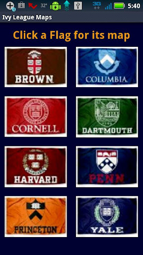 Ivy League Maps and Songs