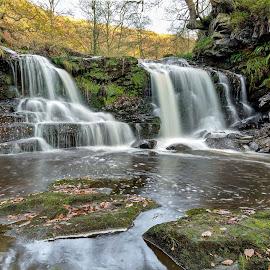 Water Arc Foss, Beck Hole by Paul Weller - Landscapes Waterscapes ( goathland, water arc foss, waterfall,  )