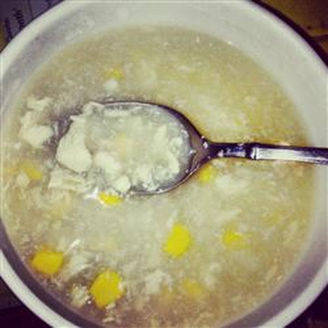 Easy Chinese Corn Soup
