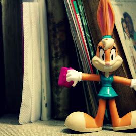 Looney Toon :D by Krishna Sharma - Artistic Objects Toys ( #toy #bunny #cute #myroom #mywork )