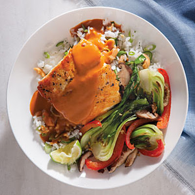 Coconut Curry Halibut