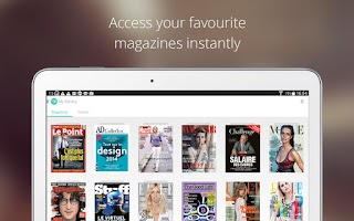 Screenshot of LeKiosk - newsstand magazines