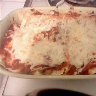 Chicken and Red Bean Enchiladas
