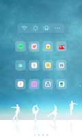 Screenshot of Fairy on the Ice  dodol theme
