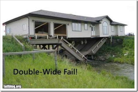FAIL - Funny house picture.