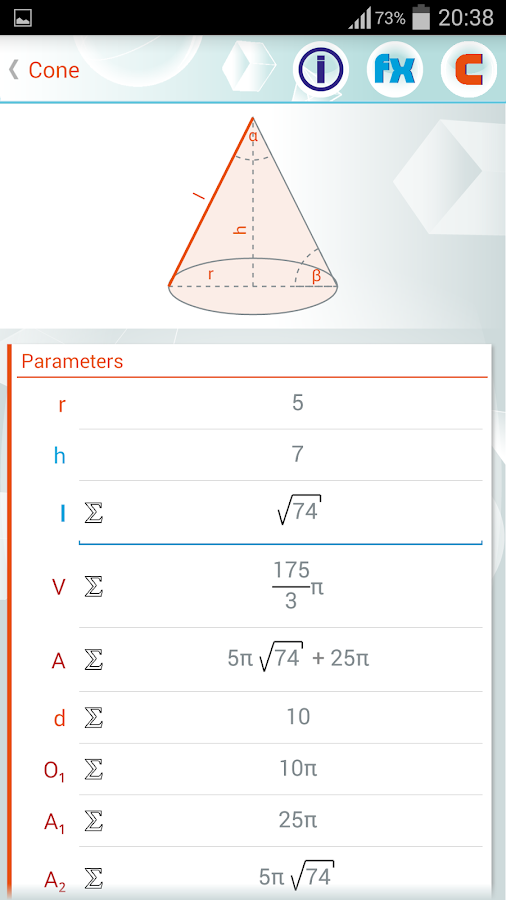 Geometry Solver Pro Screenshot 1