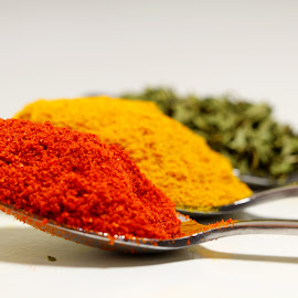 by Dipali S - Food & Drink Ingredients ( powdered, indian, yellow, spices, red chili pepper, turmeric )