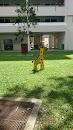 The Brown Spotted Giraffe Artwork