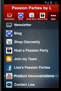Passion Parties by Lisa - screenshot
