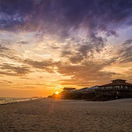 Florida by Paul Zeinert - Landscapes Beaches ( clouds, north america, mexico, sunset, florida, gulf, sea, ocean, beach, homes, usa, destin )