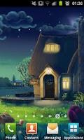 Screenshot of Night Garden Wallpaper - Free