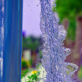 Water Falling by Bill Telkamp - Novices Only Macro