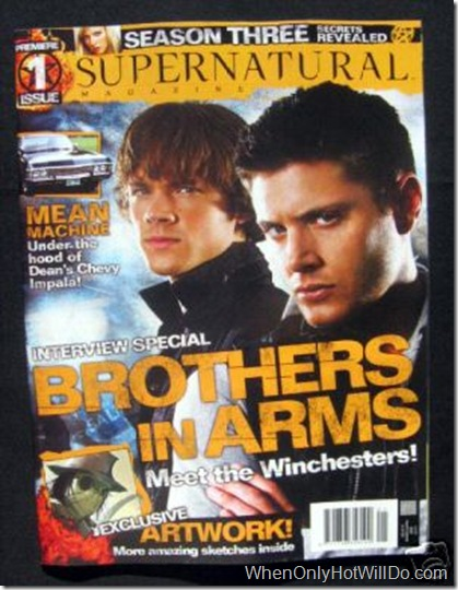 supernatural magazine