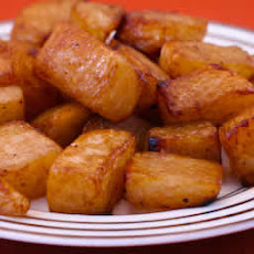 Roasted Turnips with Balsamic Vinegar