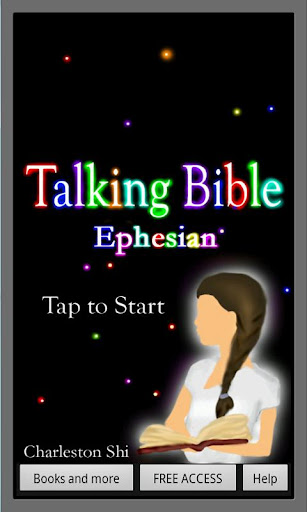 【免費教育App】Talking Bible, Ephesians-APP點子